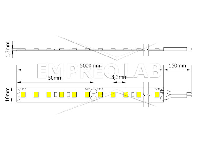 4_LED Strip 2835-600 with Lumileds SMD_Empreo-lab