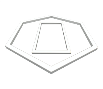 LED frame luminaire preview3