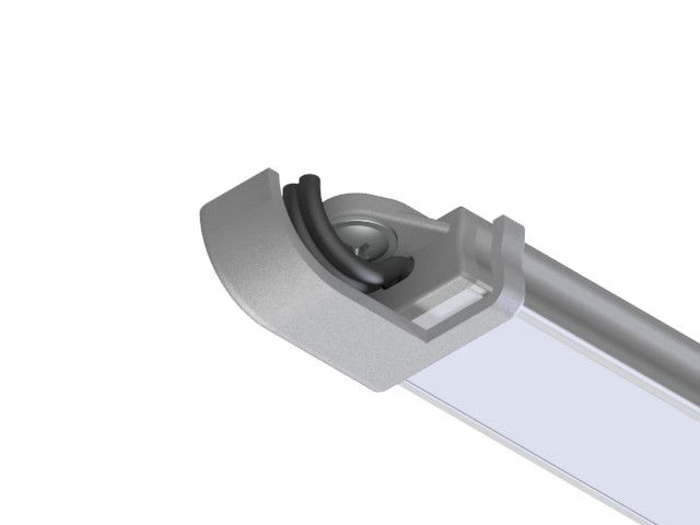 End cover cable LED extrusion E8 Empreo-lab
