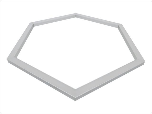 LED aluminum hexagon frame Empreo-lab